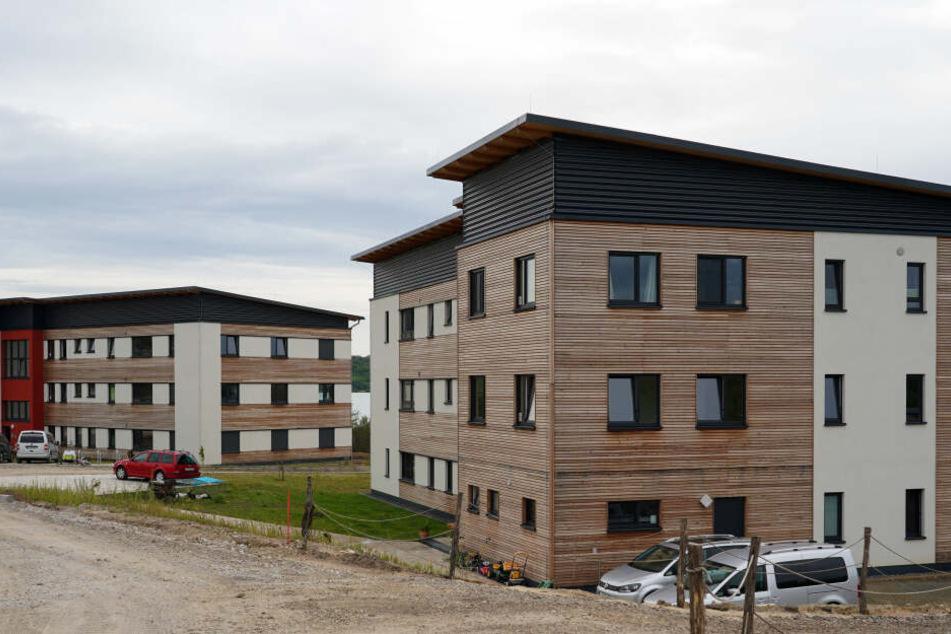 In zwei Neubauten werden bis zu sieben Häftlinge pro WG betreut.