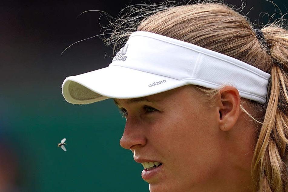Caroline Wozniacki schied in der 2. Runde des ATP-Turniers in London aus.