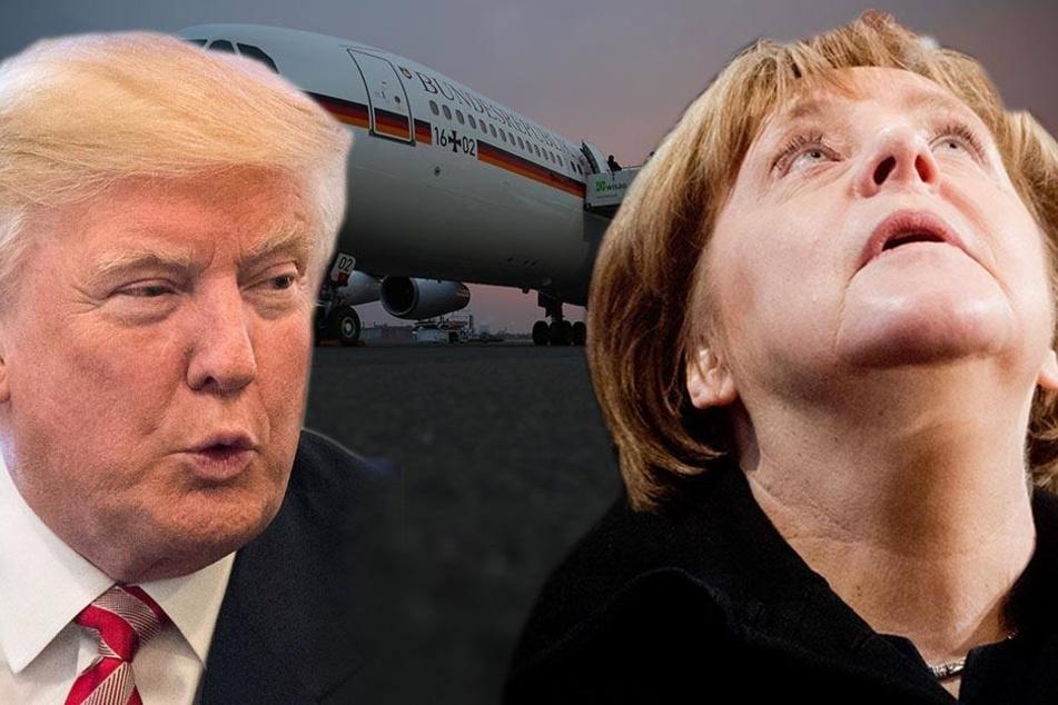 Unmittelbar vor Abflug! Merkels Reise zu Trump abgesagt