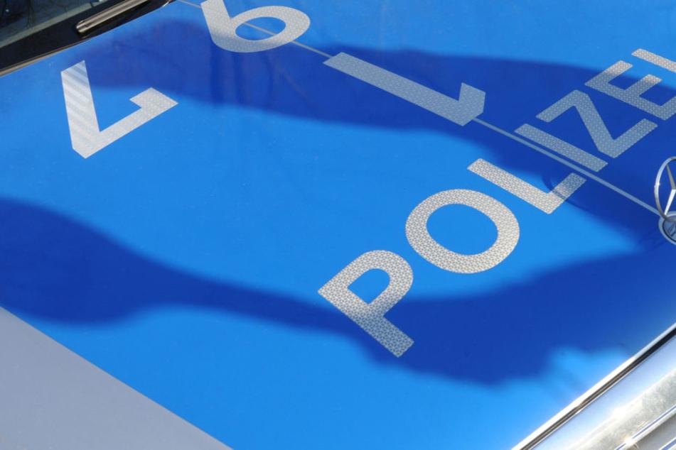 Der Betrunkene sprang plötzlich auf die Motorhaube des Polizeiwagens. (Symbolbild)