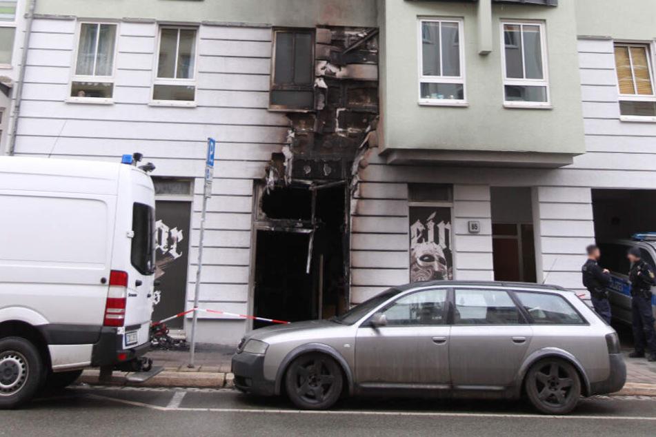 Weiterer Brandanschlag auf rechtsextremen Laden in Sachsen?