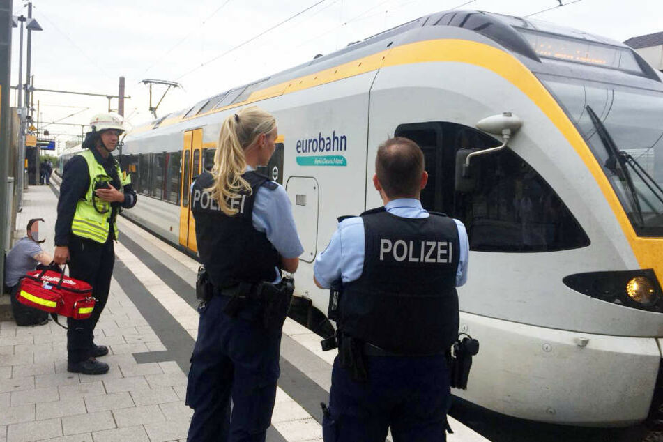 Eine Eurobahn legte den Zugverkehr lahm.