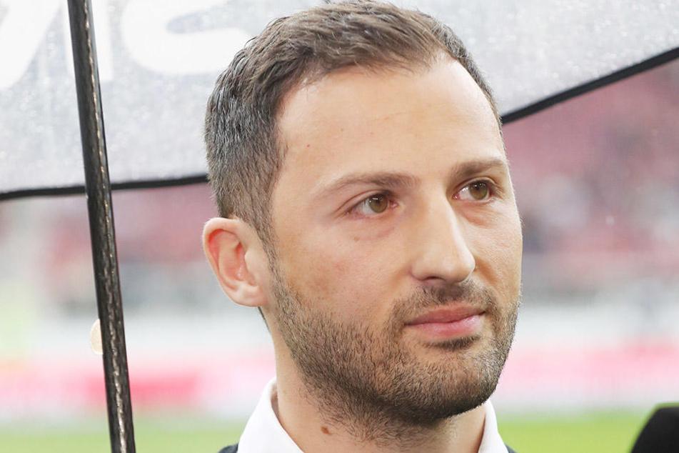 Coach Domenico Tedesco und sein Team blenden die brenzlige Tabellensituation aus und hoffen heute auf ein aus FCE-Sicht positives Ergebnis.