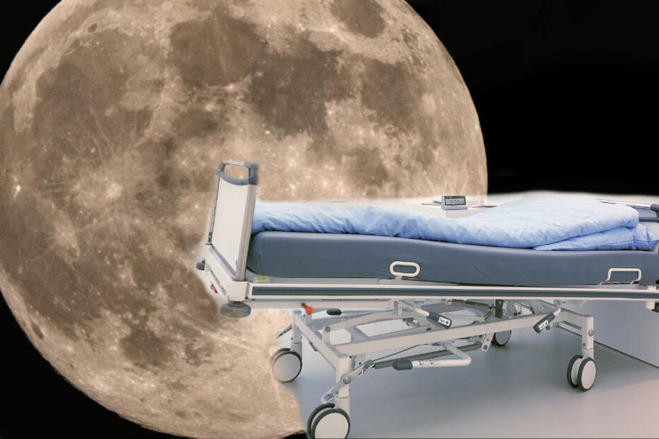 Schräges Experiment für die Raumfahrt: Menschen liegen 60 Tage kopfüber