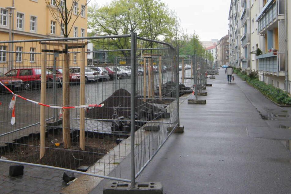 In der Dresdner Johannstadt wurde ein Radfahrer leblos entdeckt (Archivbild).