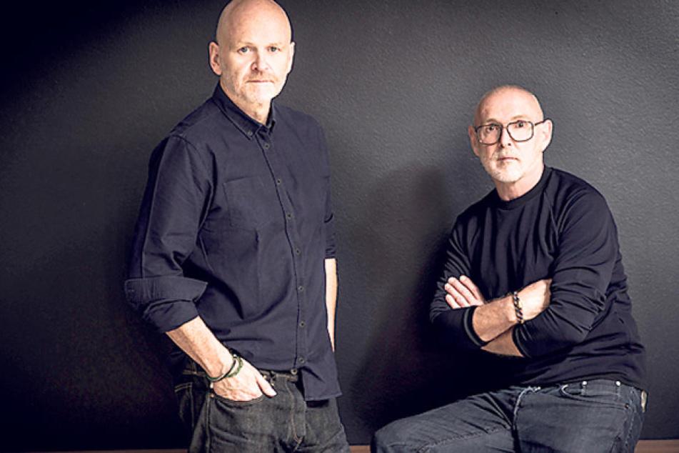 Sie geben künftig den Stil in der Porzellanmanufaktur Meissen an: das  Designerteam Otto Drögsler (59, r.) und Jörg Ehrlich (54).