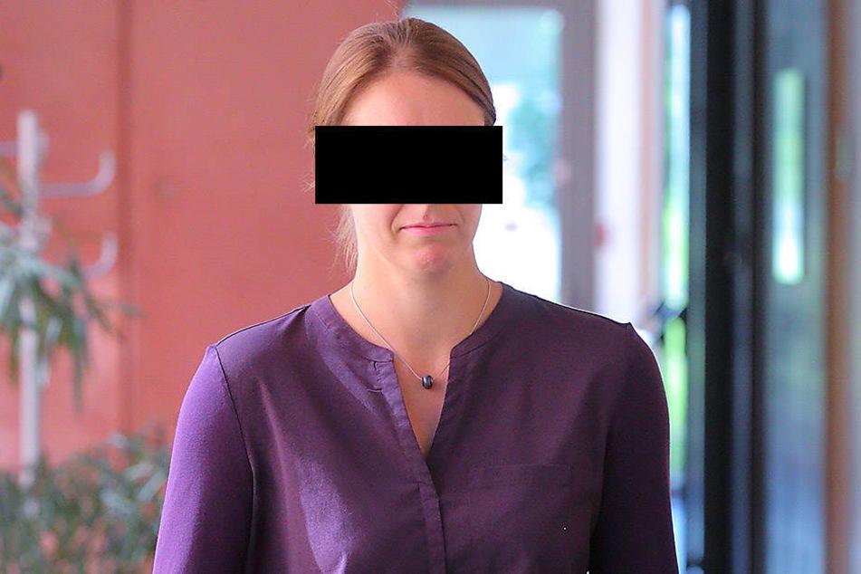Sabine B. (33) musste sich zwei Jahre nach dem schlimmen Unfall vor Gericht  verantworten.