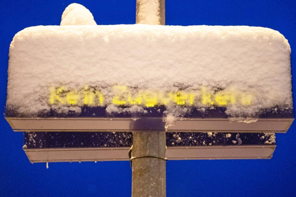 Das Schneechaos im Januar hat für zahlreiche Zugausfälle in Bayern gesorgt.