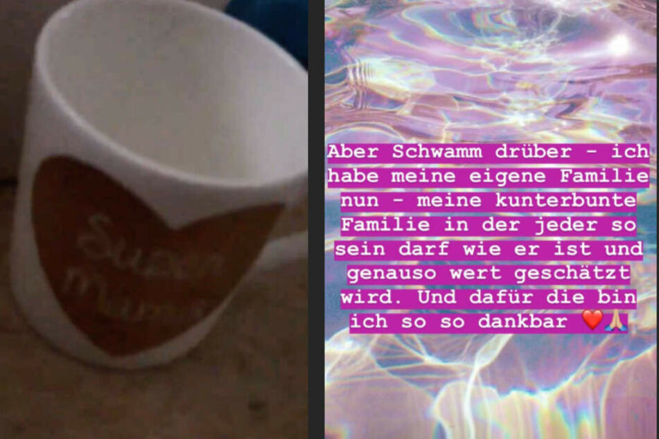 Bei Instagram zeigt Tessa, was ihre Mutter ihr geschickt hat und wie sie damit umgeht.