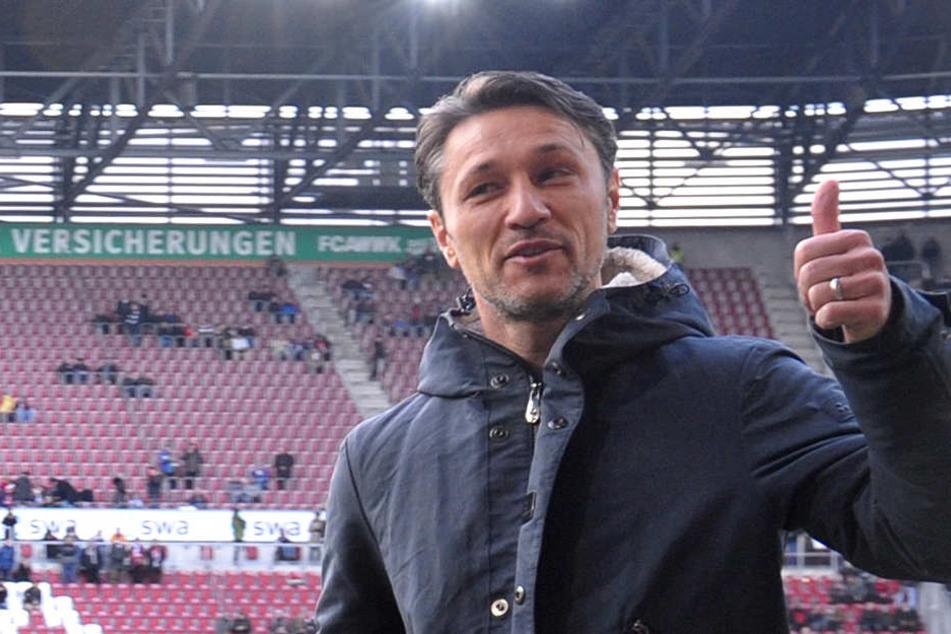 Trotz Niederlage in Augsburg zeigte sich Niko Kovac optimistisch für das Spiel gegen Mainz.