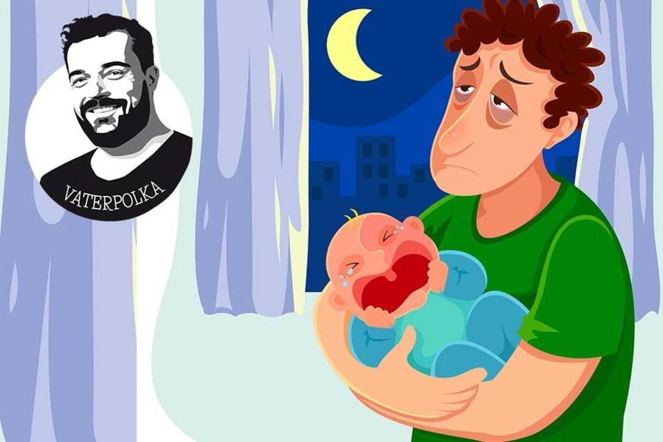 Baby ins Bett bringen? Nichts schwerer als das