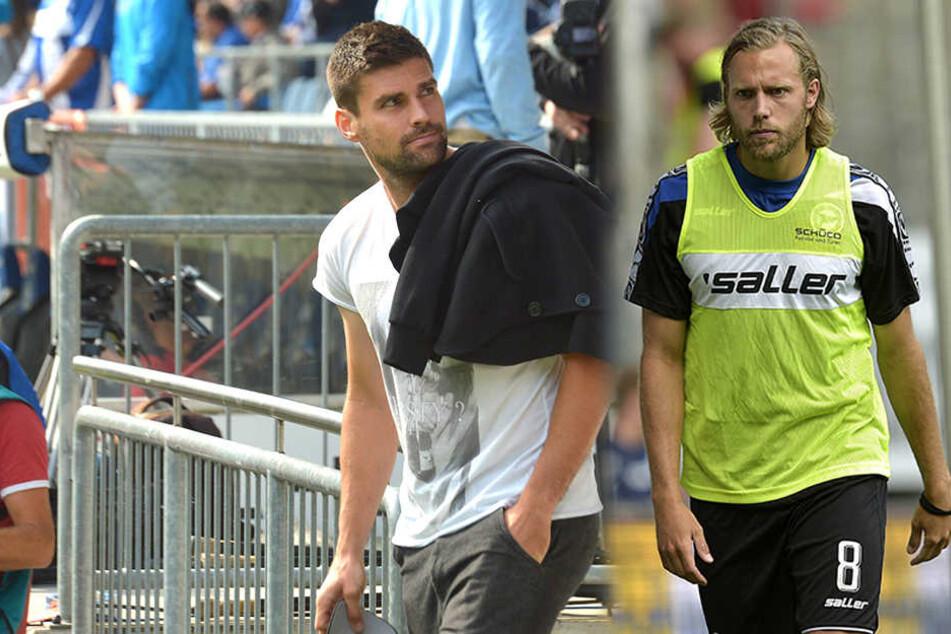 Florian Dick (re.) und Daniel Brinkmann könnten bald wieder zum Training der Profis zurückkehren.