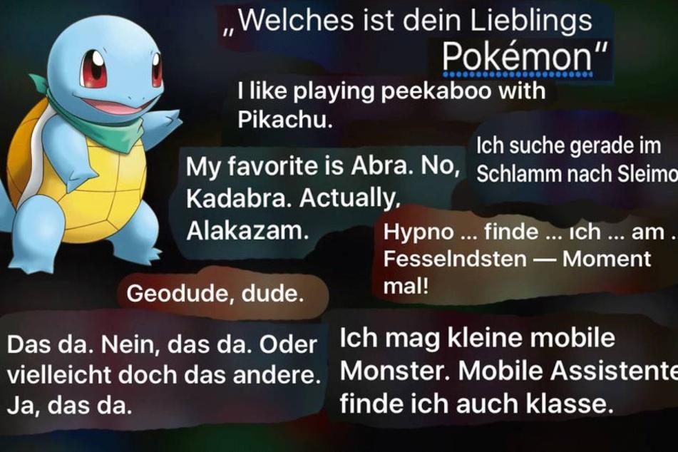 Digitale Freundschaft: Siri liebt Pokémon Go