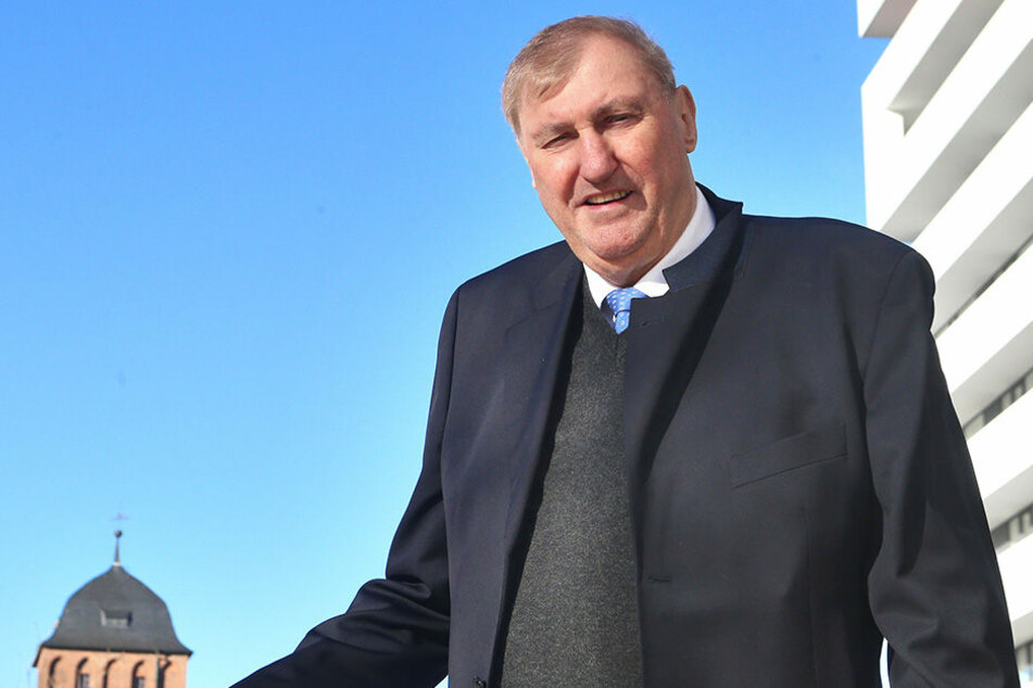 Baumogul Claus Kellnberger (74) würde gerne bauen, fühlt sich aber  missverstanden von den Chemnitzern.