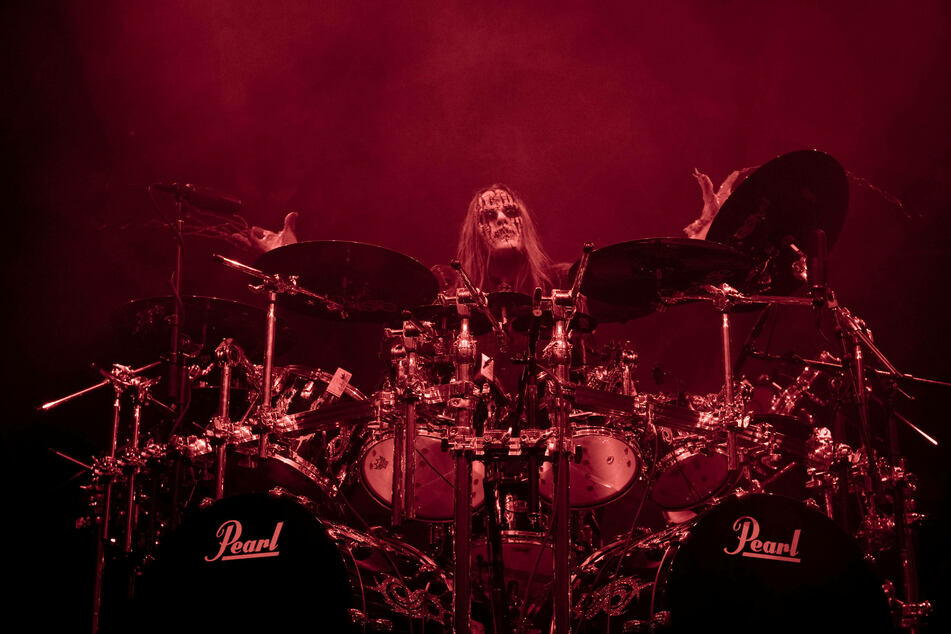 Joey Jordison played with Slipknot for almost 20 years.