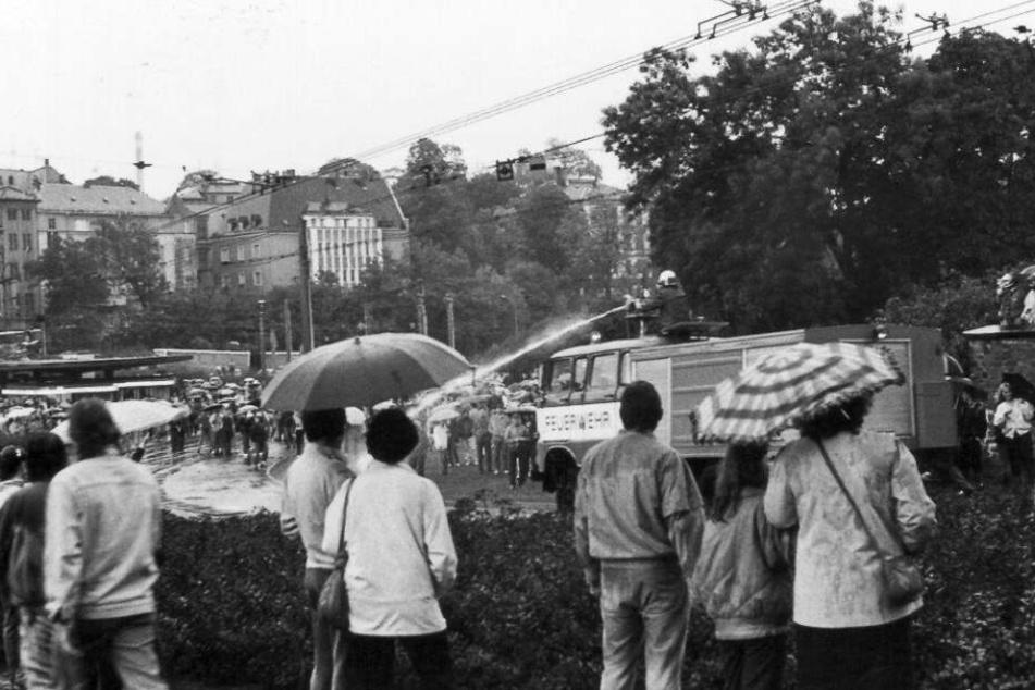 7.Oktober 1989: Die erste Großdemo in Plauen brachte die DDR ins Wanken.