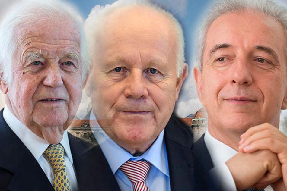 Die glorreichen glücklosen drei Ex-Minister-Präsidenten