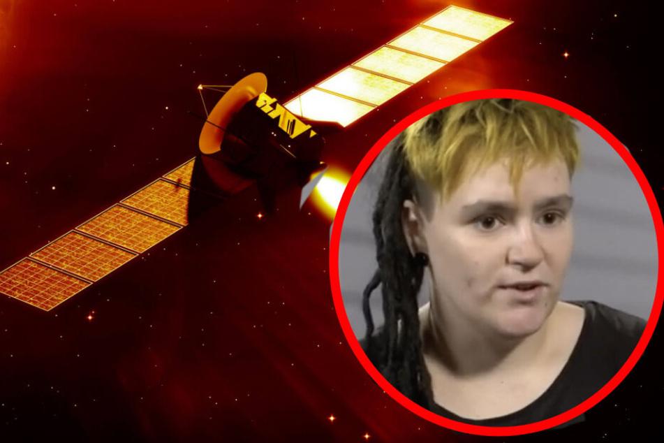 """Adelheid Noack scheint es Fan des Science-Fiction-Romans """"Per Anhalter durch die Galaxis"""" zu sein."""