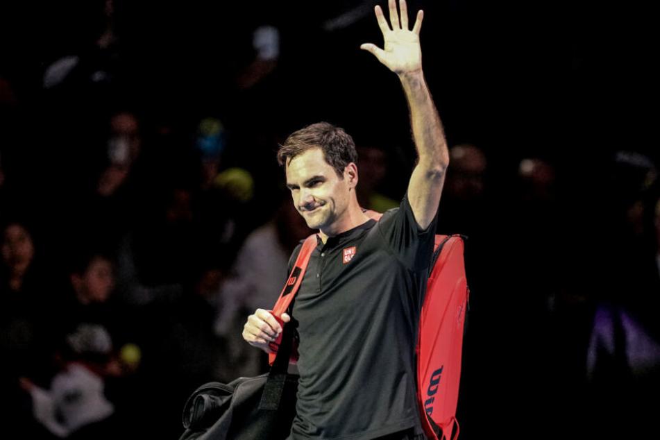 Denkt langsam an sein Karriereende: Tennis-Legende Roger Federer.