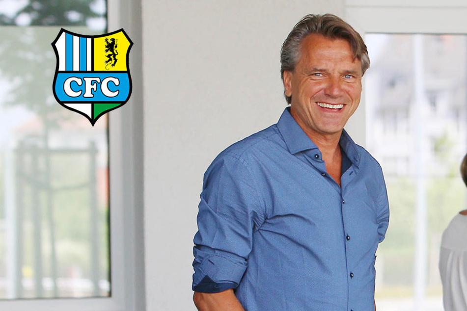 CFC-Trainer Horst Steffen ist da!