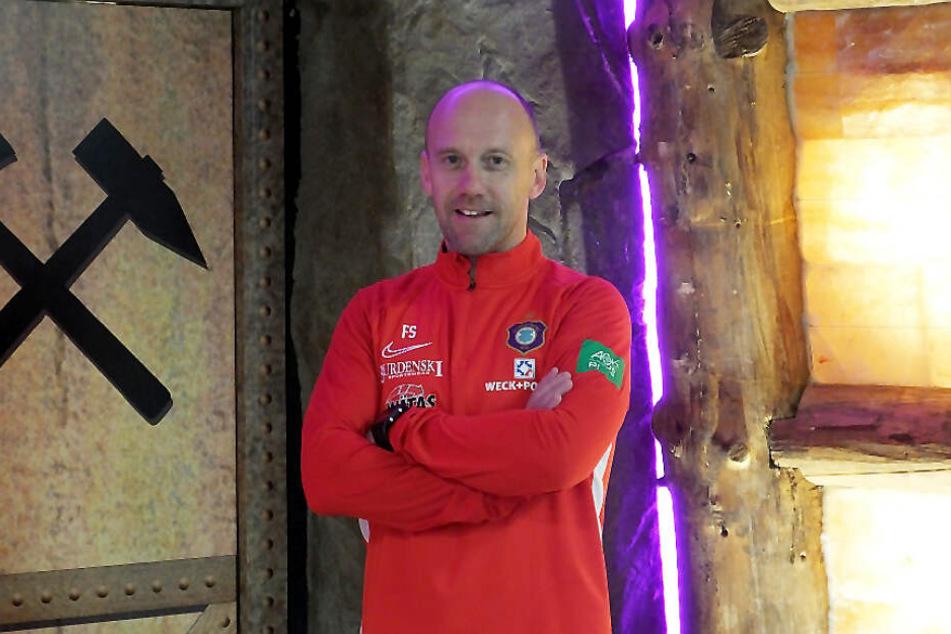 Frank Steinmetz ist neuer Co-Trainer beim FC Erzgebirge Aue.