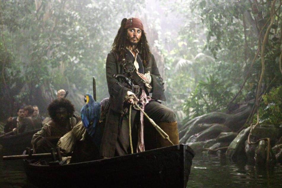 """Zahlt Disney nicht, könnte der fünfte Teil von """"Fluch der Karibik"""" noch vor dem Kinostart im Netz landen."""
