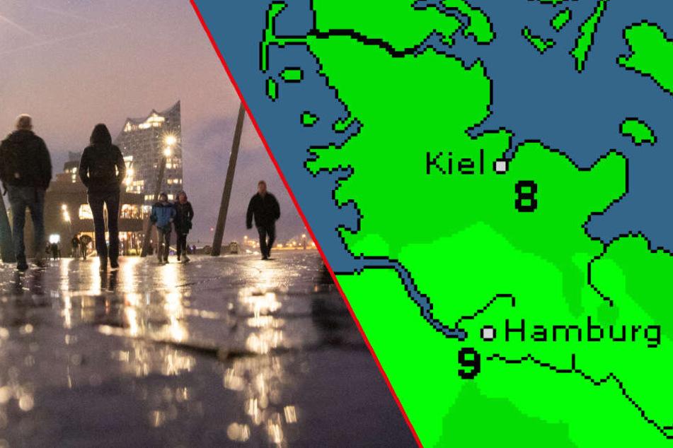 """Wetter in Hamburg: Jetzt kommt Sturmtief """"Wiltrud"""""""