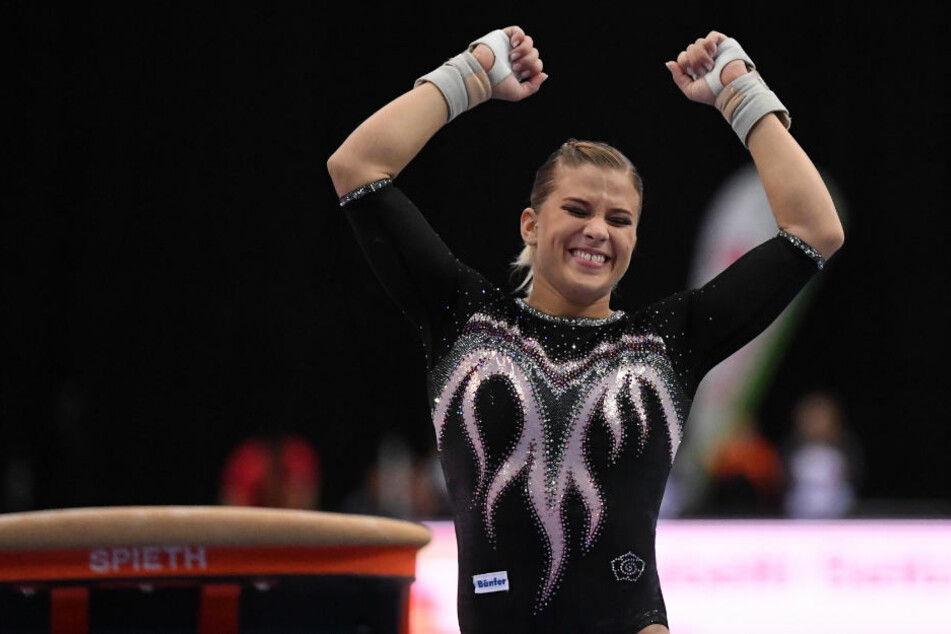 Die Stuttgarterin Elisabeth Seitz gewann am Samstag in Leipzig ihren zwanzigsten Meistertitel.