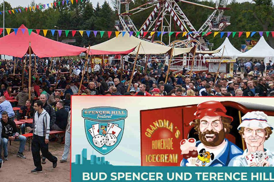 Bud Spencer und Terence Hill Festival: Lommatzsch wird Flipper-Paradies