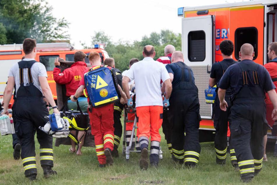 Der Junge wurde in ein Krankenhaus gebracht. (Symbolbild)