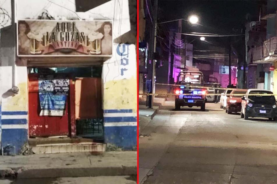 In dieser Bar in Irapuato sind die tödlichen Schüsse gefallen.