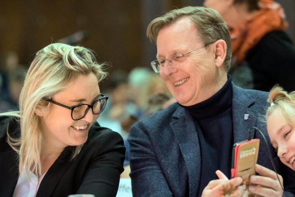 Ramelow will wieder Ministerpräsident werden
