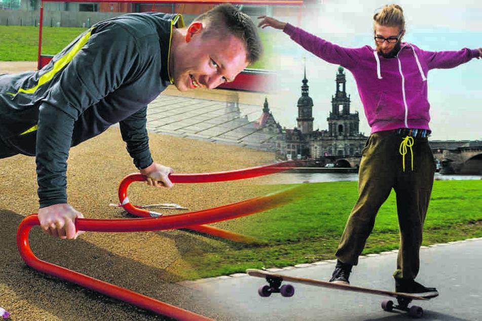 Fitnesswetter! Hier schwitzt sich's in Dresden am besten