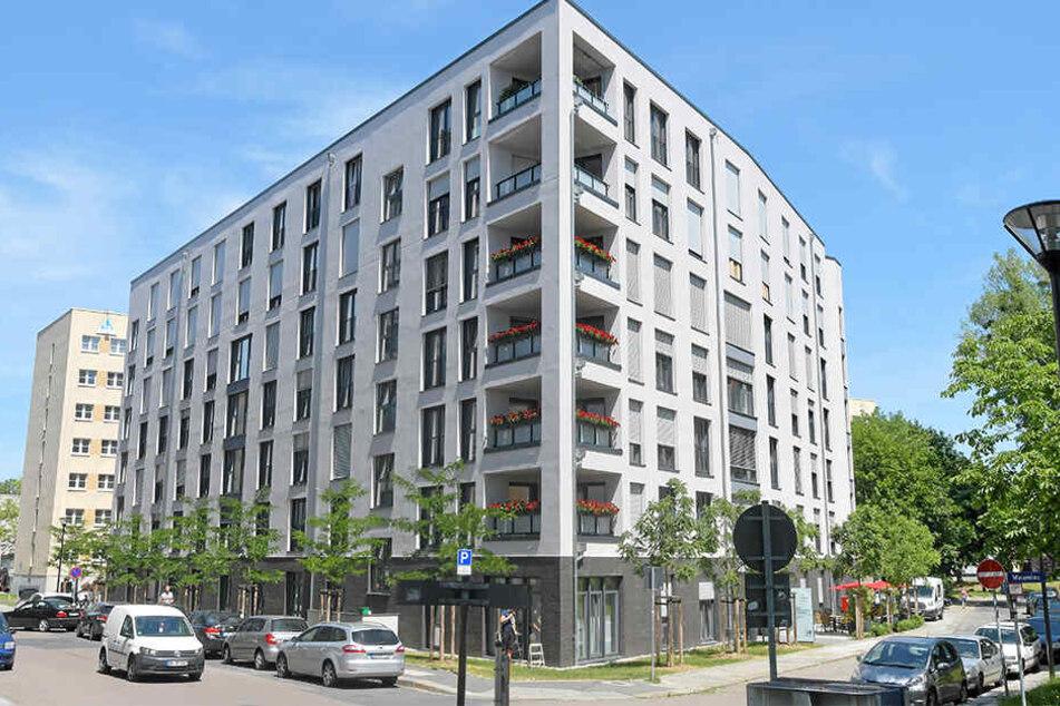 Legionellen-Alarm und Duschverbote gab es auch in diesem Wohnhaus mit Seniorenzentrum an der Maternistraße.