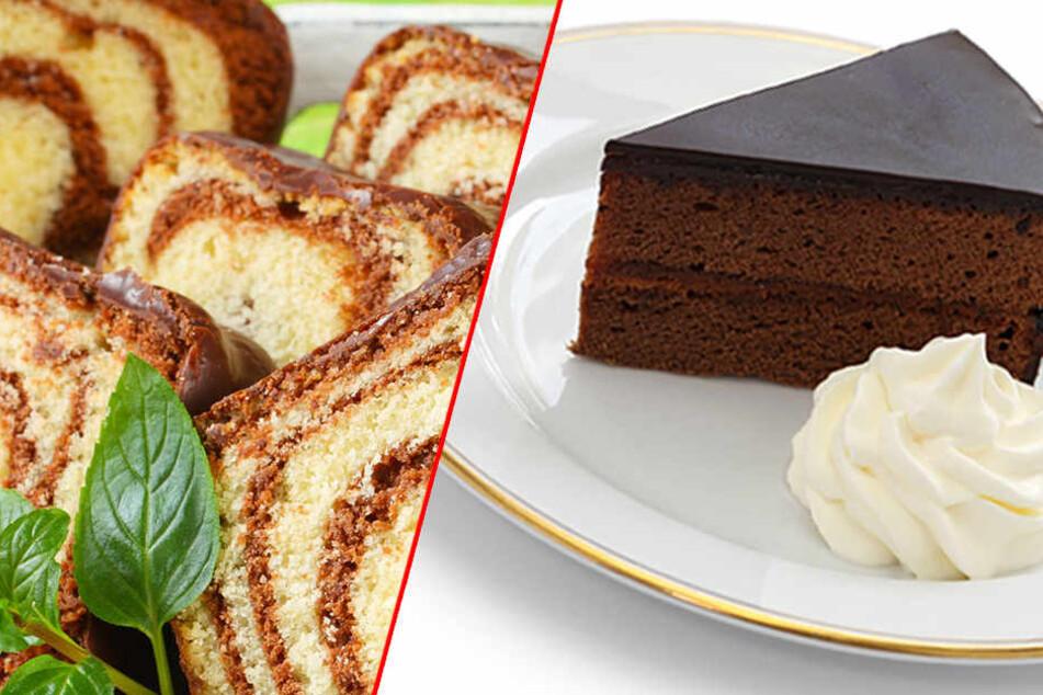 Marmorkuchen und Sachertorte sind die Renner beim Kuchen-Lieferservice von Dr. Oetker.