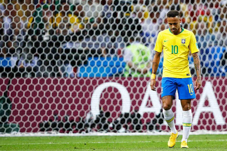 """Neymar wird die """"Selecao"""" bei der Copa America nicht als Kapitän aufs Feld führen."""
