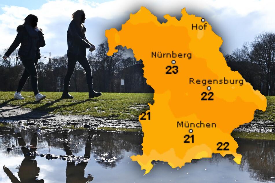 Das kann sich doch endlich mal sehen lassen! So gut wird das Wetter in Bayern