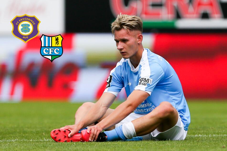 Geht CFC-Mittelfeldmann Tallig zum FC Erzgebirge Aue?