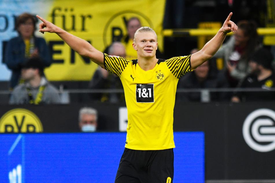BVB-Goalgetter Erling Haaland (21) steht auf Real Madrids Wunschliste dem Vernehmen nach weiter ganz oben.