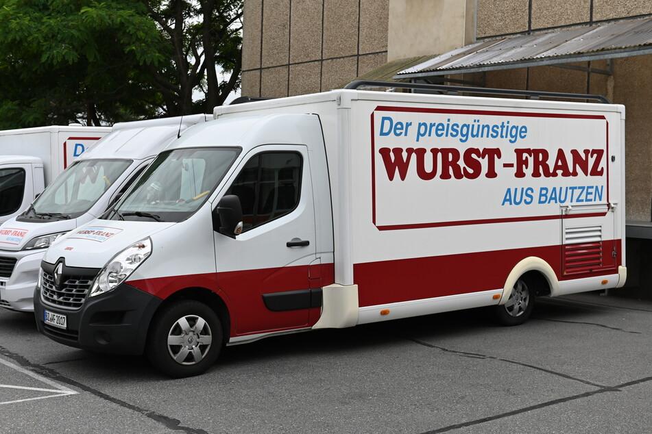 Einen solchen Marktwagen klauten die Diebe in Bautzen.