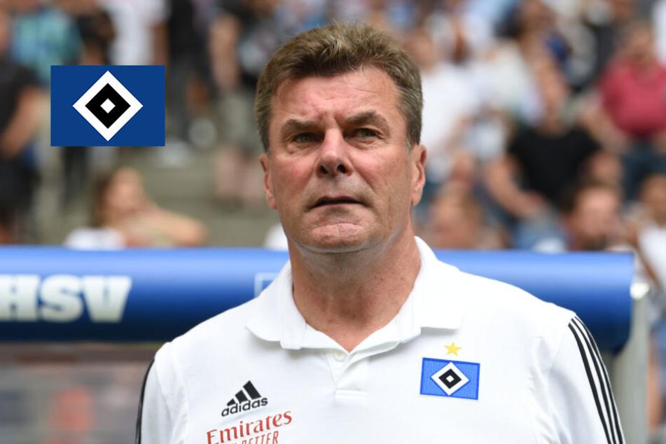 """HSV-Trainer Hecking warnt: """"Nur mit Fußballspielen erlebst Du Dein blaues Wunder!"""""""