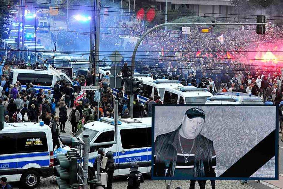 Tausende Hooligans in Chemnitz zur Beerdigung von Neonazi Thomas Haller (†53) erwartet