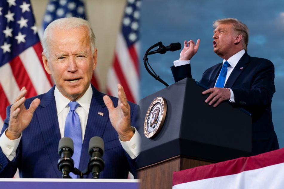 """""""Wenig Energie"""": Trump verspottet """"schläfrigen"""" Joe Biden auf Twitter"""