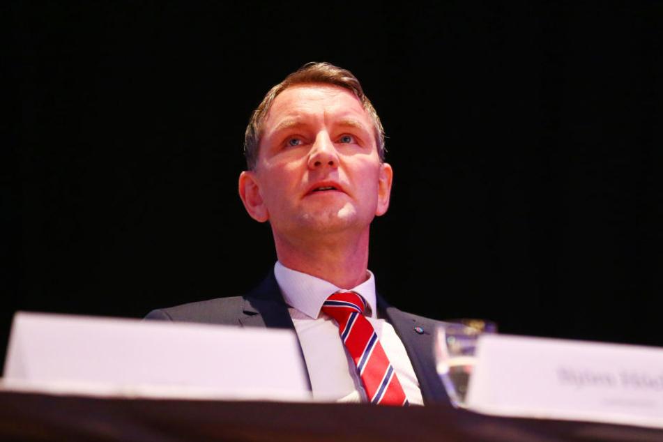 Auf dem Landesparteitag sprach Höcke seine Forderung aus.