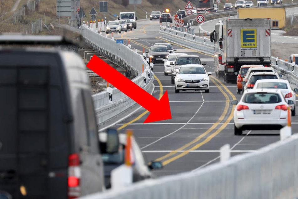 Diese Schwellen sorgen für stockenden Verkehr auf der A20.