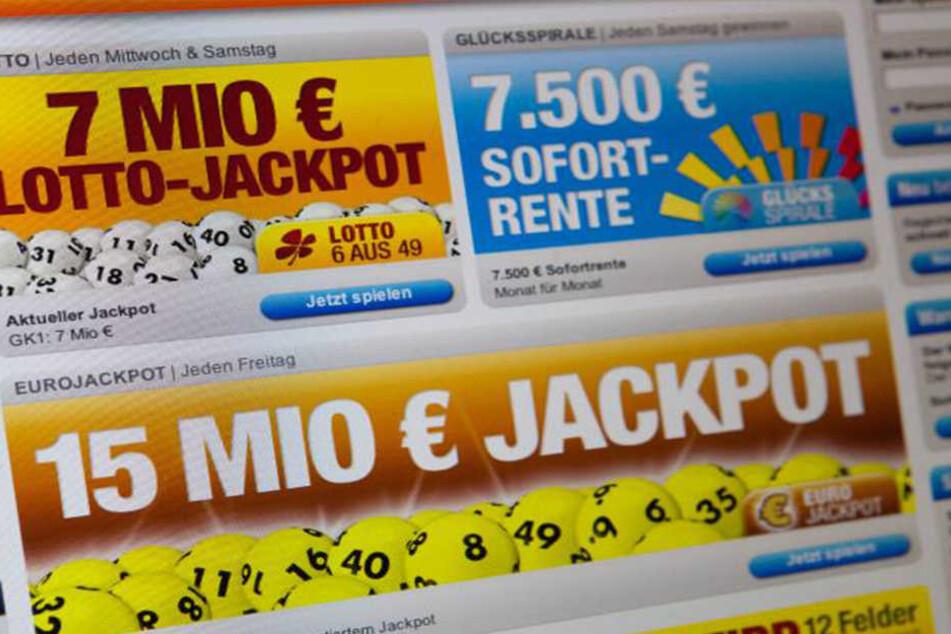 """Mehrere Online-Abonnenten des """"Glücksspirale""""-Spiels schauten dumm aus der Wäsche."""
