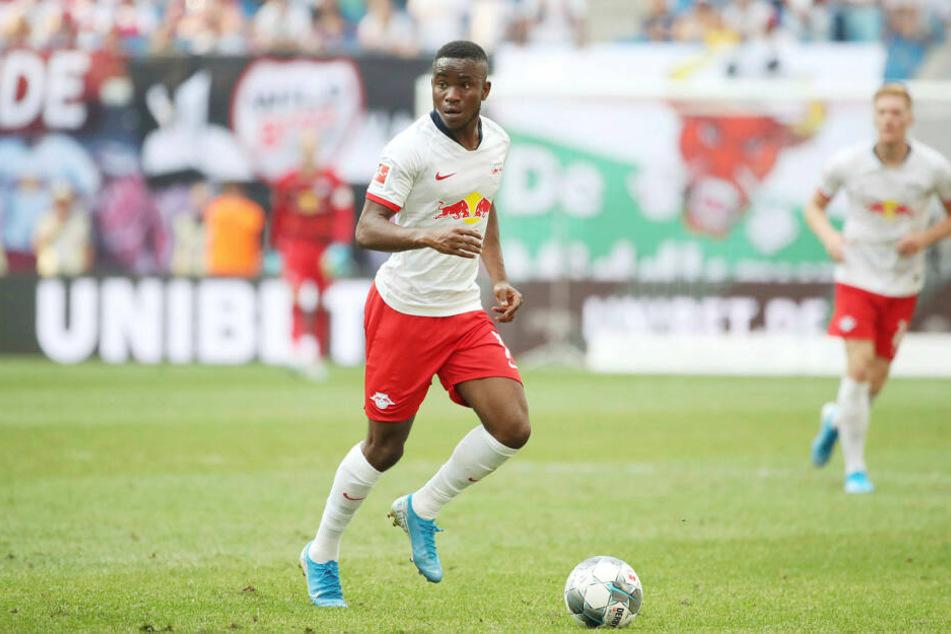 Stand bislang nur gegen Eintracht Frankfurt am 2. Spieltag für elf Minuten auf dem Platz: Leipzigs Wunschspieler Ademola Lookman (21).