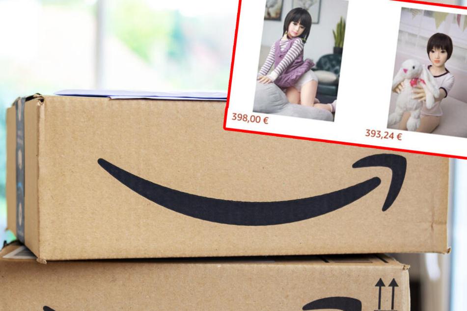 Amazon-Ekel: Schon wieder Kinder-Sexpuppen im Angebot!