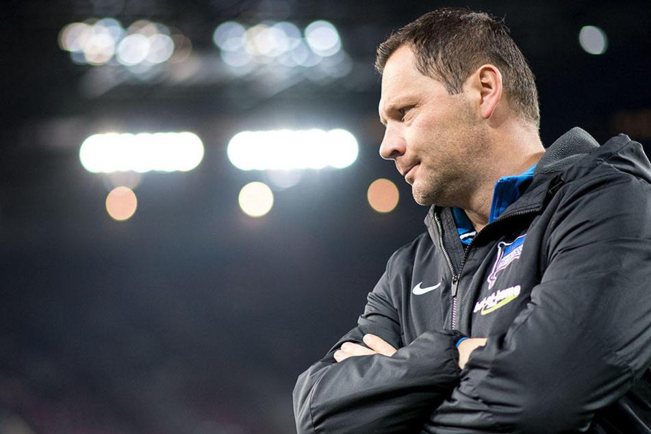 Hertha-Trainer Pal Dardai rechnet mit einer Rückkehr von Aubameyang.