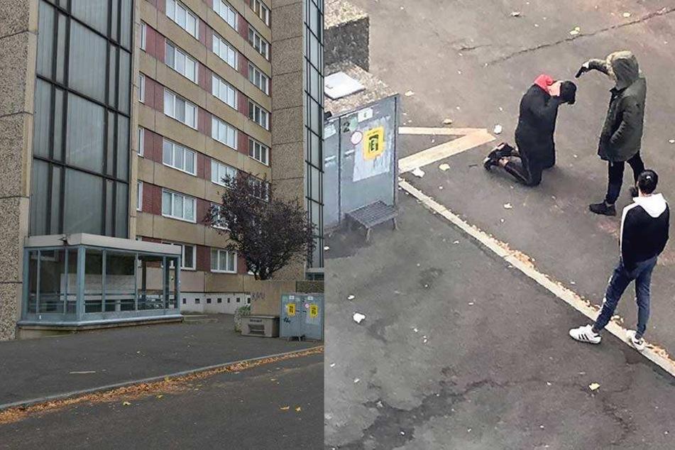So reagieren Anwohner auf Pistolen-Fotos in der Johannstadt